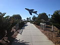 Florida Jan2014 I-10 Welcome Center Plane.JPG