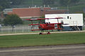 Fokker Dr.I Manfred Richthofen Takeoff 02 Dawn Patrol NMUSAF 26Sept09 (14597965144).jpg