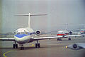 Fokker F-28-1000 Fellowship (unidentified) USAir, Pittsburgh - International - USA, August 1990. (5620189652).jpg