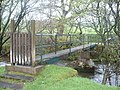 Footbridge over Afon Lliw - geograph.org.uk - 168039.jpg
