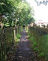 Footpath - Church Lane, Kirkheaton - geograph.org.uk - 889730.jpg