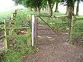 Footpath and Gate - geograph.org.uk - 898172.jpg
