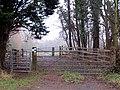 Footpath gate, A425, near Southam - geograph.org.uk - 1138668.jpg