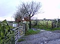 Footpath past Cefn Bach - geograph.org.uk - 624738.jpg