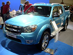 Last generation Ford Ranger.