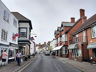 Topsham, Devon - Image: Fore Street, Topsham