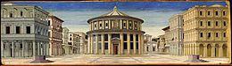 Formerly Piero della Francesca - Ideal City - Galleria Nazionale delle Marche Urbino.jpg