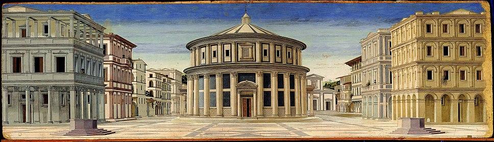 Formerly Piero della Francesca - Ideal City - Galleria Nazionale delle Marche Urbino