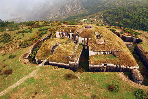 Fort Gorazda aerial view