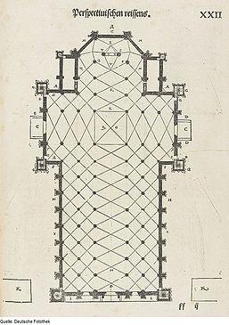 Fotothek df tg 0000071 Architektur ^ Geometrie ^ Grundriss ^ Mailänder Dom.jpg