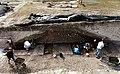 Fouilles des remparts de Novioregum en 1998.jpg