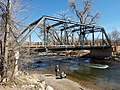 Fourth Street Bridge, truss bridge over the Arkansas River, Cañon City, Colorado.jpg