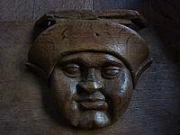 Fr Bourg-en-Bresse cathedral - Misericord face 1.jpg