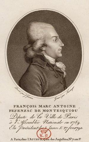 François-Xavier-Marc-Antoine de Montesquiou-Fézensac - François-Xavier-Marc-Antoine de Montesquiou-Fézensac