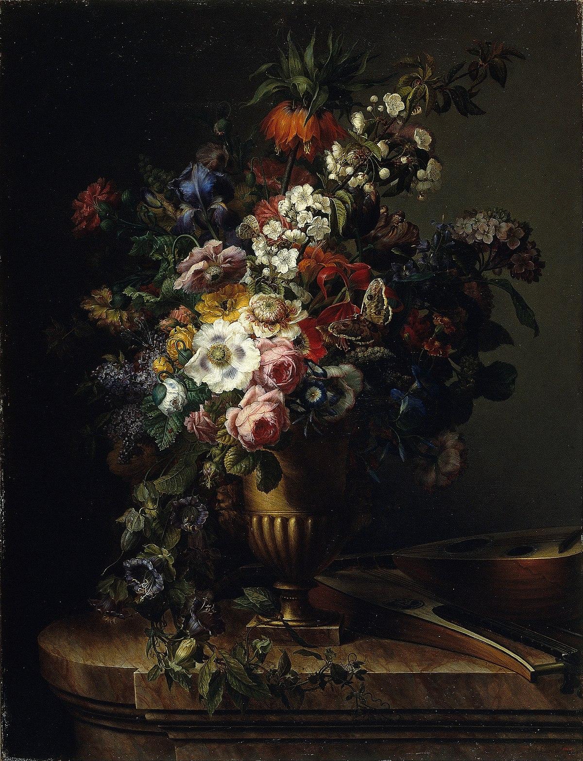 Gerro Amb Flors Viquip 232 Dia L Enciclop 232 Dia Lliure