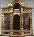 Francesco e raffaello botticini, tabernacolo del sacramento, da altare maggiore collegiata di empoli, 1484-1504, 01.JPG
