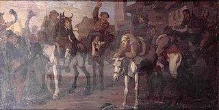 Hudibras's Discomfiture at the Hands of the Skimmington