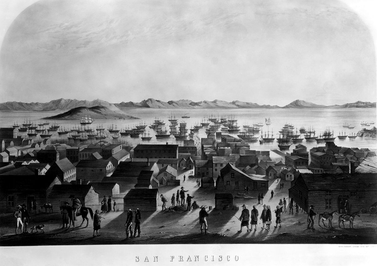 Francis Samuel Marryat, San Francisco, lithograph.jpg