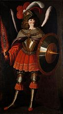 Francisco de Zurbarán and Studio - The Archangel Michael - Google Art Project.jpg