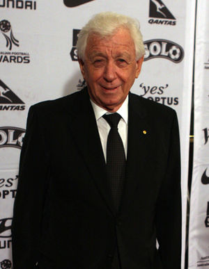 Frank Lowy - Lowy at the Australian Football Awards in October 2011
