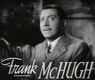 Frank McHugh actor