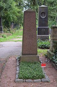 Frankfurt, Hauptfriedhof, Grab Eduard Rüppell.JPG