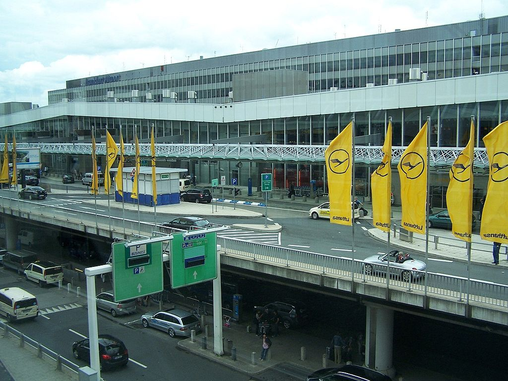 Frankfurt Abflug Terminal 1