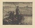 Frans Nackaerts - Paysage représentant deux hommes dans une barque - Graphic work - Royal Library of Belgium - S.III 80108.jpg