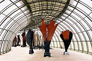 Frans Krajcberg - Espaço Frans Krajcberg, em Curitiba. Photo:Sam Emerick/flickr