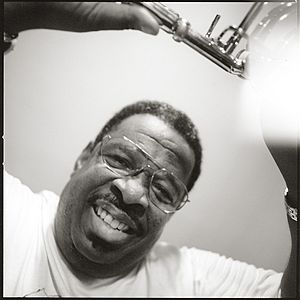 Fred Wesley - Backstage in Cologne/Germany 1998