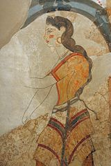 "Fresco ""Ladies"" detail 1700-1600 BC, PMTh 261-265 0503190.jpg"