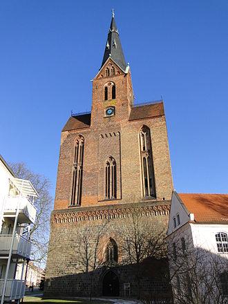 Friedland, Mecklenburg-Vorpommern - St. Mary of Friedland