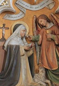 Friesach - Dominikanerkirche - Hochaltar - Hl Agnes von Montepulciano0.jpg