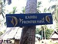 Frontier NGO welcome sign in Mafia Island.jpg