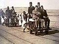 Fuad I of Egypt vistis the Phosphate mines.jpg