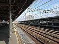 Furukawabashi station platform.jpg