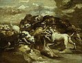 Géricault - Dogs Fighting Bears, 1812-16.jpg