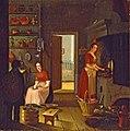Görvälns kök på 1830-talet, oljemålning av Johan Gustaf Köhler.jpg