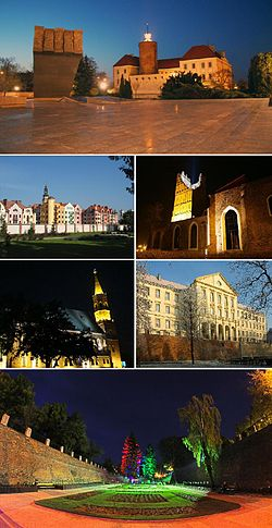 Sights of Głogów