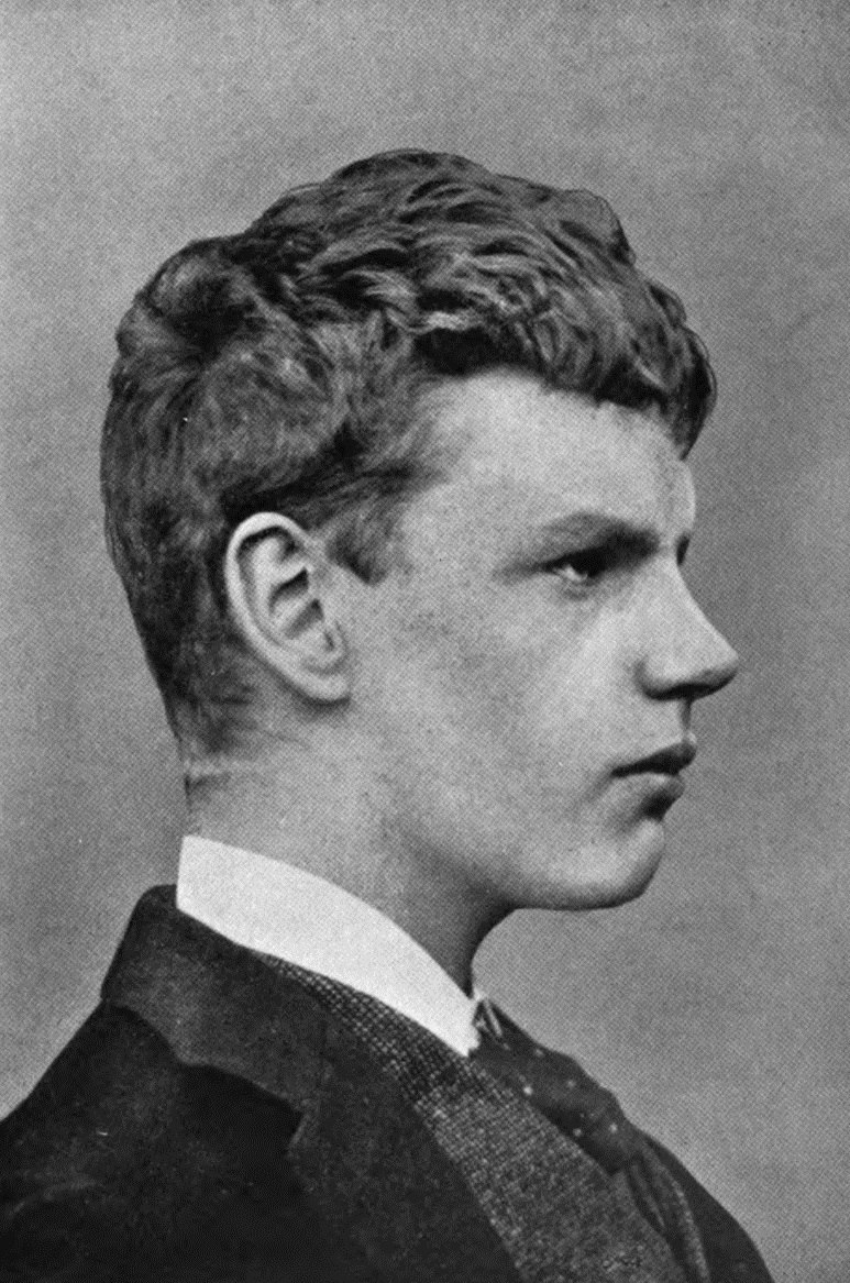 G.K. Chesterton at the age of 17