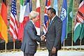 G7 Taormina Paolo Gentiloni Uhuru Kenyatta handshake 2017-05-27.jpg