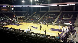 GCU Arena - Inside of Grand Canyon University Arena, one hour prior to a men's basketball game.