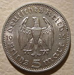 GERMANY -5 REICHSMARK 1935, NO SWASTIKAS a - Flickr - woody1778a.jpg