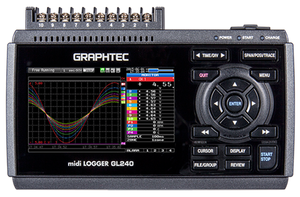 Data logger - Portable Dataloggers may reach up to 20 channels with maximum 10ms (100Hz) sampling rate.