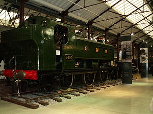 GWR 9400 Class - The first of the class 9400 is preserved as a static exhibit at STEAM, Swindon and is part of the National Collection