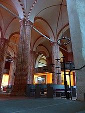 Kreuzgratgewölbe Der Kirche St. Jakob Und St. Dionysius In Gadebusch