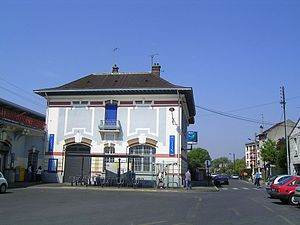 Gagny Station - Railway station of Gagny.
