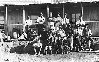 Leo Tolstoy - Mohandas K. Gandhi and other residents of Tolstoy Farm, South Africa, 1910