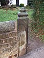 Gatepost. - geograph.org.uk - 305153.jpg
