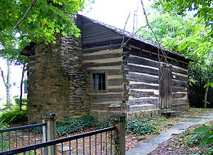 Gatlinburg, Tennessee - The Ogle Cabin in Gatlinburg